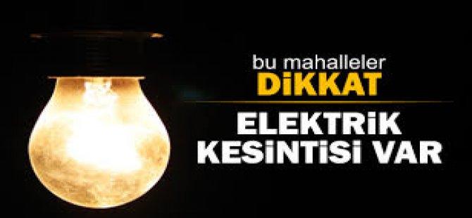 SEDAŞ Elektrik Kesintisi İlanı