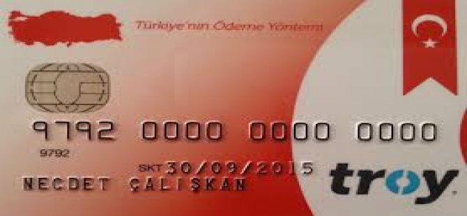 Yerli Kredi Kartı TROY Kullanılmaya Başlandı