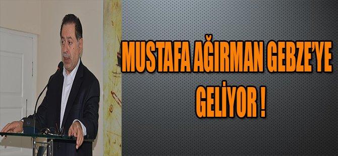 Prof. Dr. Mustafa Ağırman Gebze'ye Geliyor !