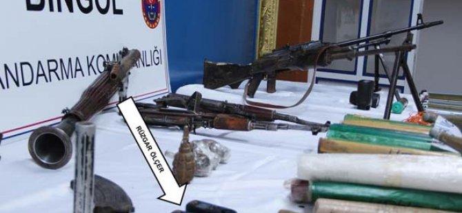 PKK'ya Ait 2 Depoda Silah ve Mühimmat Ele Geçirildi