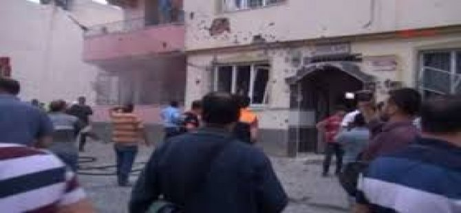 Kilis'e Yine Bomba Yağdı