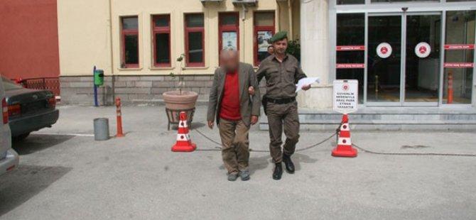 Traktörde Tacize Tutuklama