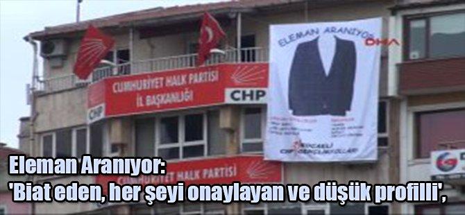 CHP'den Ceketli Başbakanlık Göndermesi