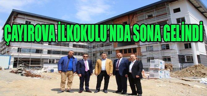 ÇAYIROVA İLKOKULU'NDA SONA GELDİ