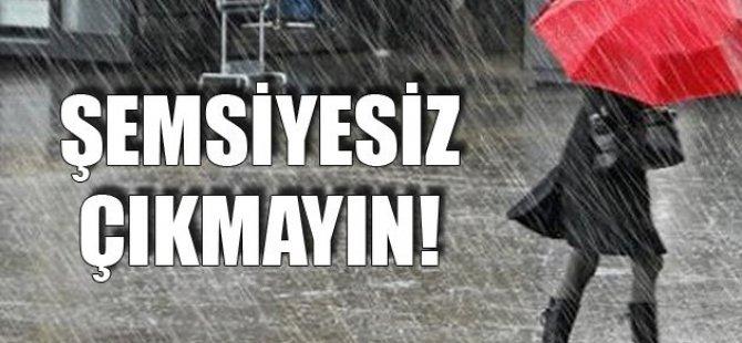 Dikkat! Şemsiyesiz Dışarı Çıkmayın!
