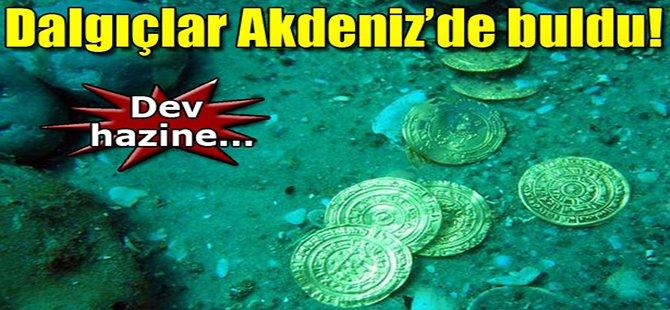 Akdeniz'de dev hazine bulundu