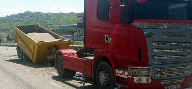 Dilovası'nda Trafik Kazası!
