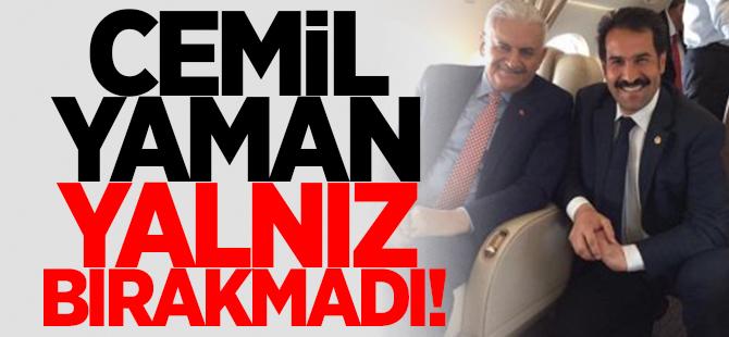 Cemil Yaman yalnız bırakmadı