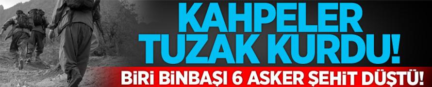 Van Çaldıran'da şiddetli patlama: 6 şehit