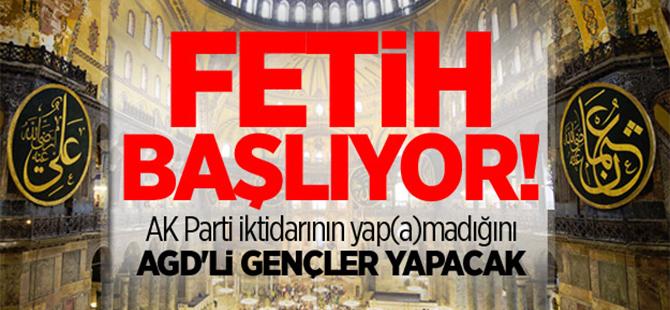 Ayasofya'da namaz Kocaeli'nde kutlama