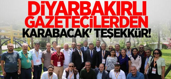 Karabacak'a teşekkür