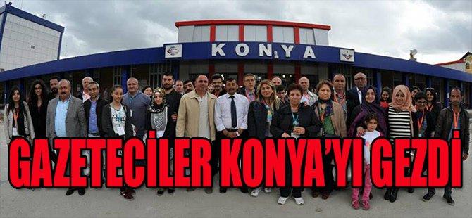 Gazeteciler Konya'yı Gezdi