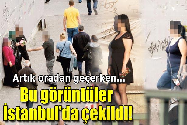 Kadıköy'de güpegündüz fuhuş pazarlığı