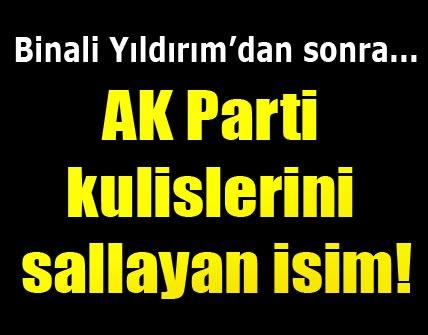 AK Parti kulisleri bu ismi konuşuyor!