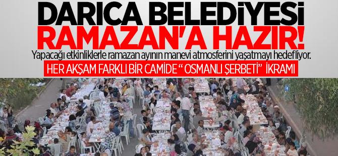 Darıca Belediyesi Ramazan'a hazırlandı