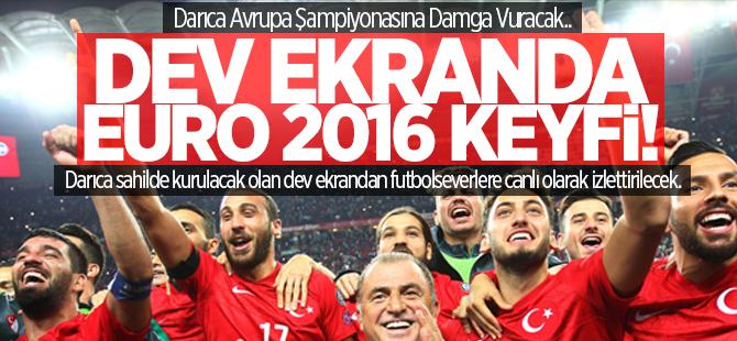 Darıca'da Euro 2016 keyfi