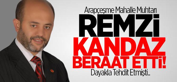 Remzi Kandaz beraat etti