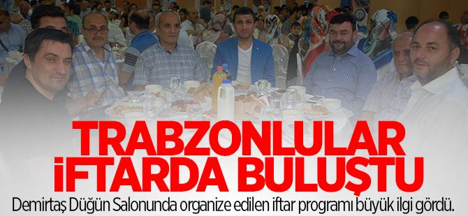 Gebze Trabzonlular Derneği iftarda buluştu