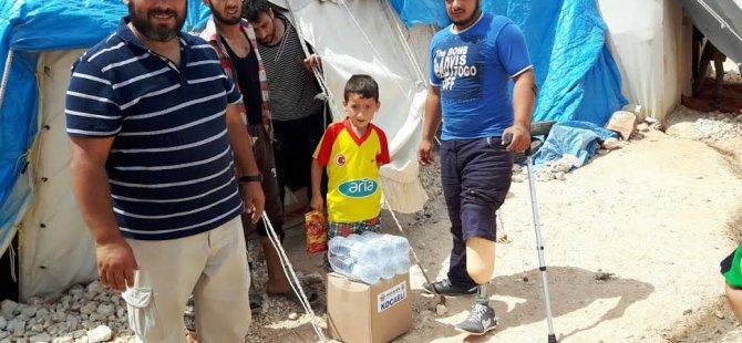 Sağlık-Sen'den Bayırbucak Türkmenlerine yardım eli