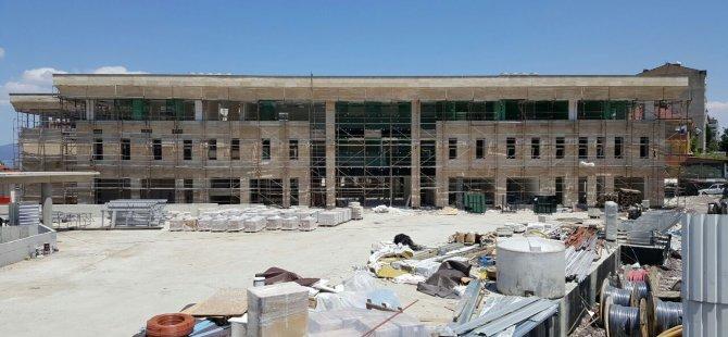 Yeni ve modern belediye binasına kavuşuyor