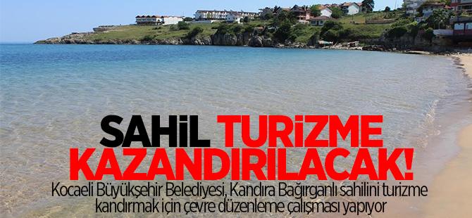 Sahil turizme kazandırılacak