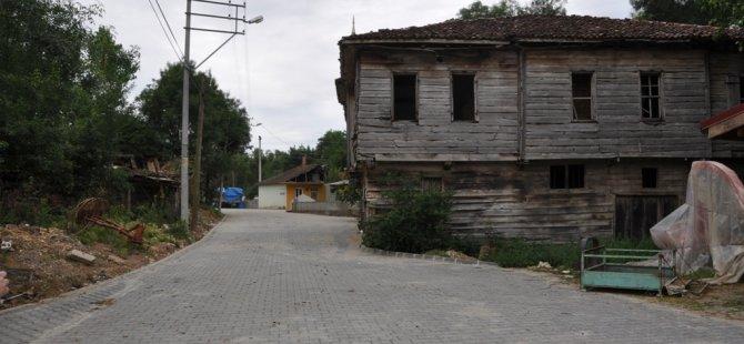 Köy yollarında yenileme çalışması yapıldı