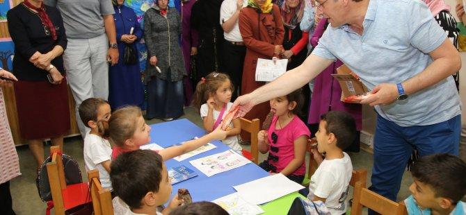 Belediyeden Öğrencilere Yaz Okulları Hediyesi