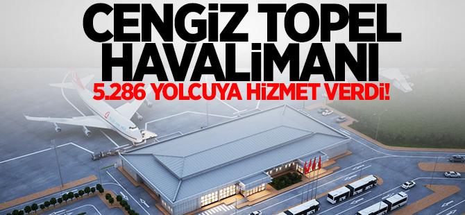 Cengiz Topel 5.286 yolcuya hizmet verdi