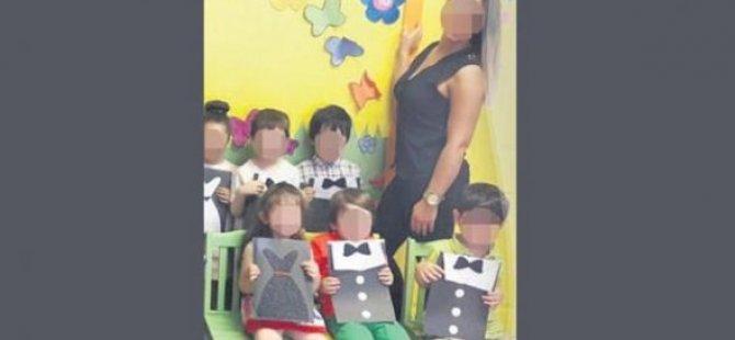 Stajyer öğretmen kreşte skandalı ortaya çıkardı