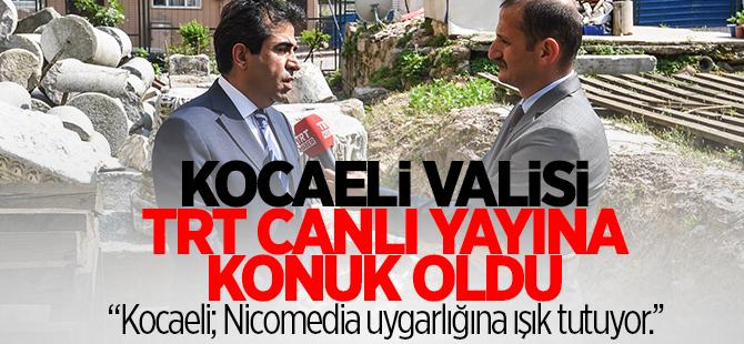 TRT canlı yayına konuk oldu