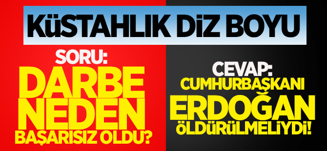 Luttwak: Önce Erdoğan öldürülmeliydi