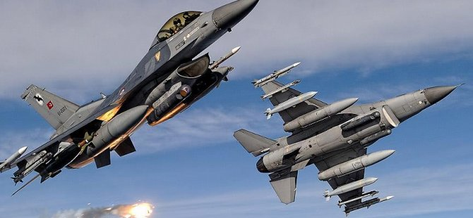 PKK'ya ait 2 hedefe hava harekatı!