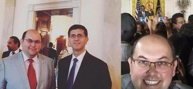 Beyaz Saray'da teröristleri ağırladılar