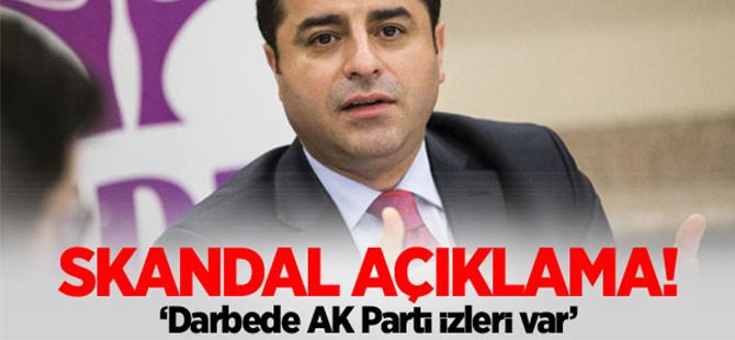 Demirtaş'tan skandal AK Parti açıklaması!