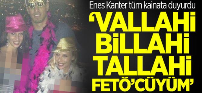 Enes Kanter'den Fethullah Gülen tweeti