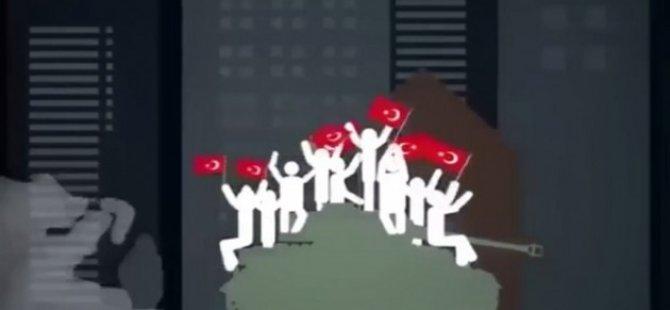 Darbe girişimini en iyi anlatan animasyon