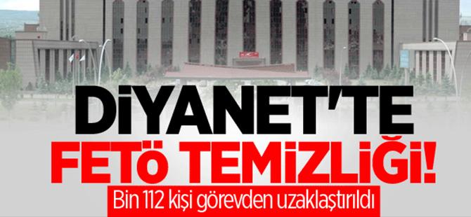 Diyanet'te bin 112 kişi görevden uzaklaştırıldı
