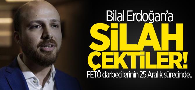Bağış: Bilal Erdoğan'a silah çektiler