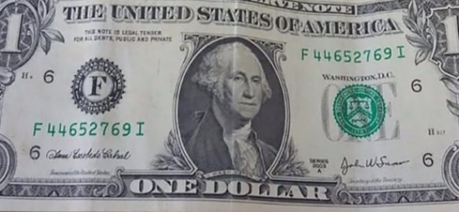 'F' serisi 1 dolarların sırrı çözüldü!