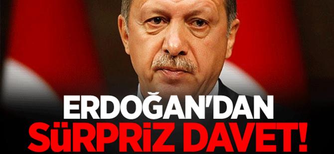 Erdoğan'dan Kılıçdaroğlu ve Bahçeli'ye sürpiz davet!