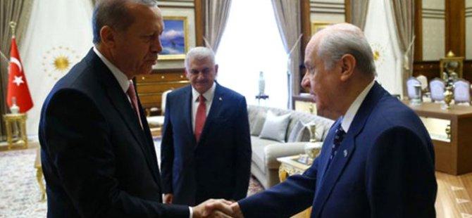 Erdoğan'dan Bahçeli'ye Jest