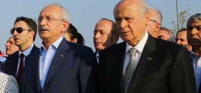 Kılıçdaroğlu ve Bahçeli son kareye girmedi!