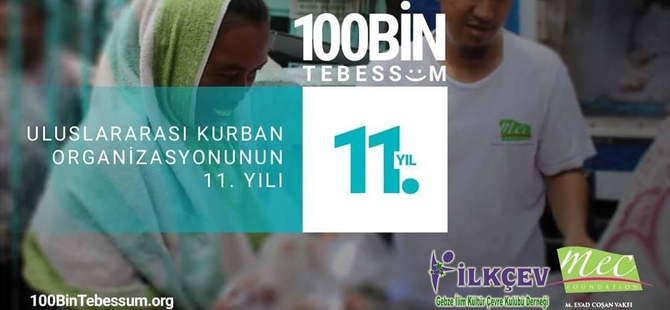 100 Bin Tebessüm'e DESTEK!!!