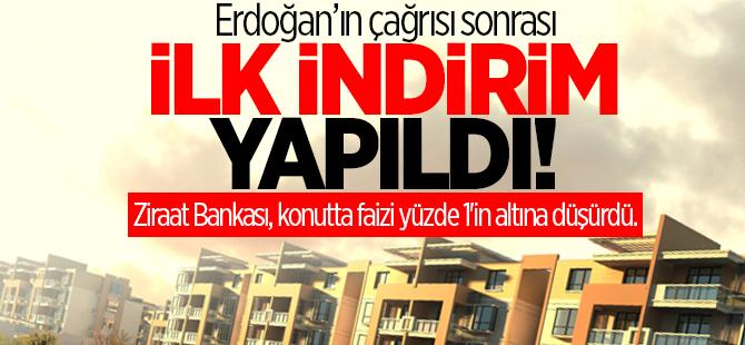 Erdoğan'nın çağrısı sonrası ilk indirim yapıldı