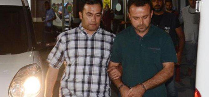 Sabah operasyona katıldı akşam FETÖ'den gözaltına alındı