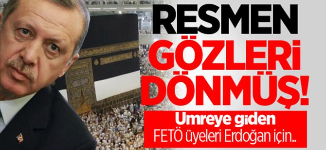 Umrede Erdoğan'a beddua seansı düzenlemişler!
