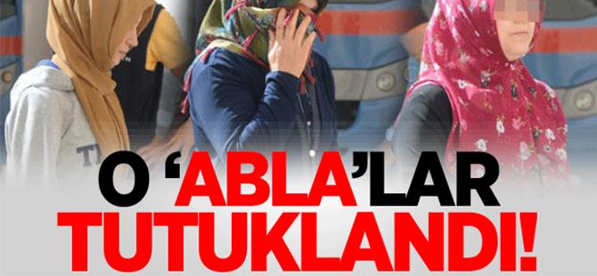 Uşak'ta FETÖ'cü 'Abla'lar tutuklandı