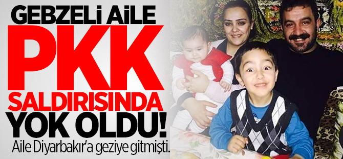 Gebzeli aile PKK saldırısında yok oldu