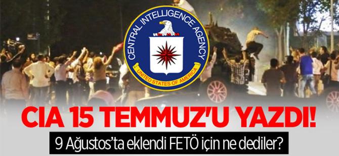 CIA, Web Sitesinden 15 Temmuz'u Yazdı!