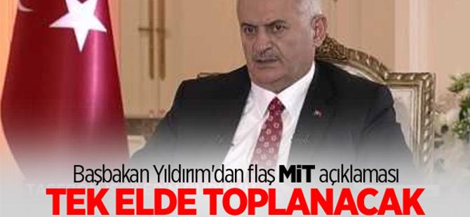 Başbakan Yıldırım'dan TRT'de flaş MİT açıklaması!